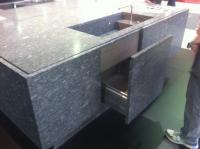 Waschbecken mit Granit  Umramung