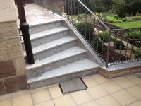 Außentreppe Granit