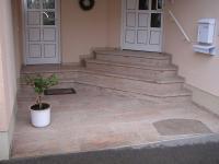 Eingangstreppe Marmor